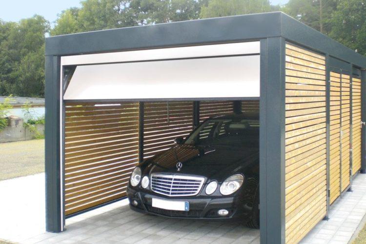 model dan desain garasi mobil