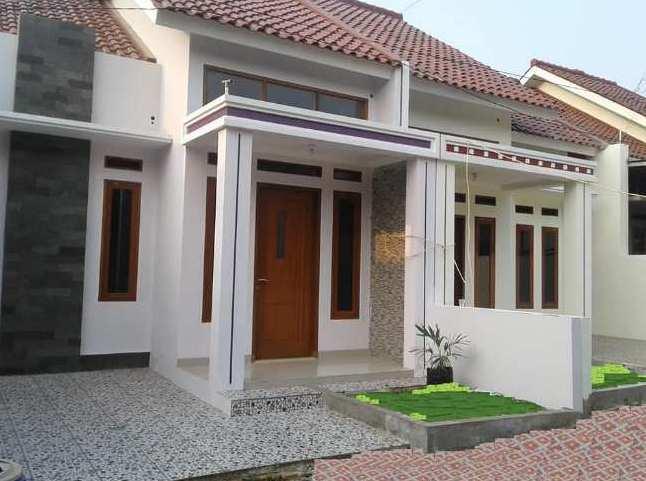 Desain eksterior tiang teras minimalis