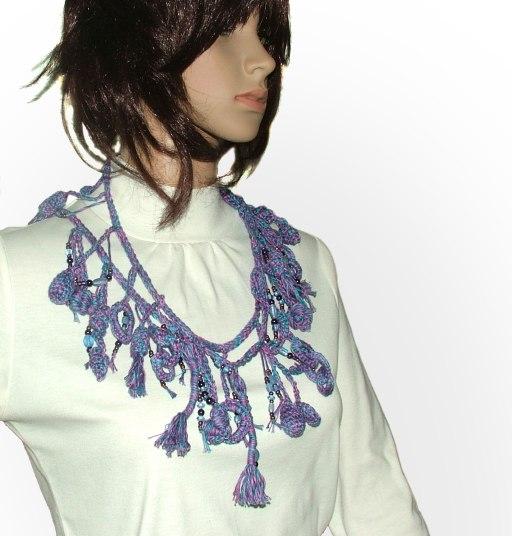 blue purple lariat