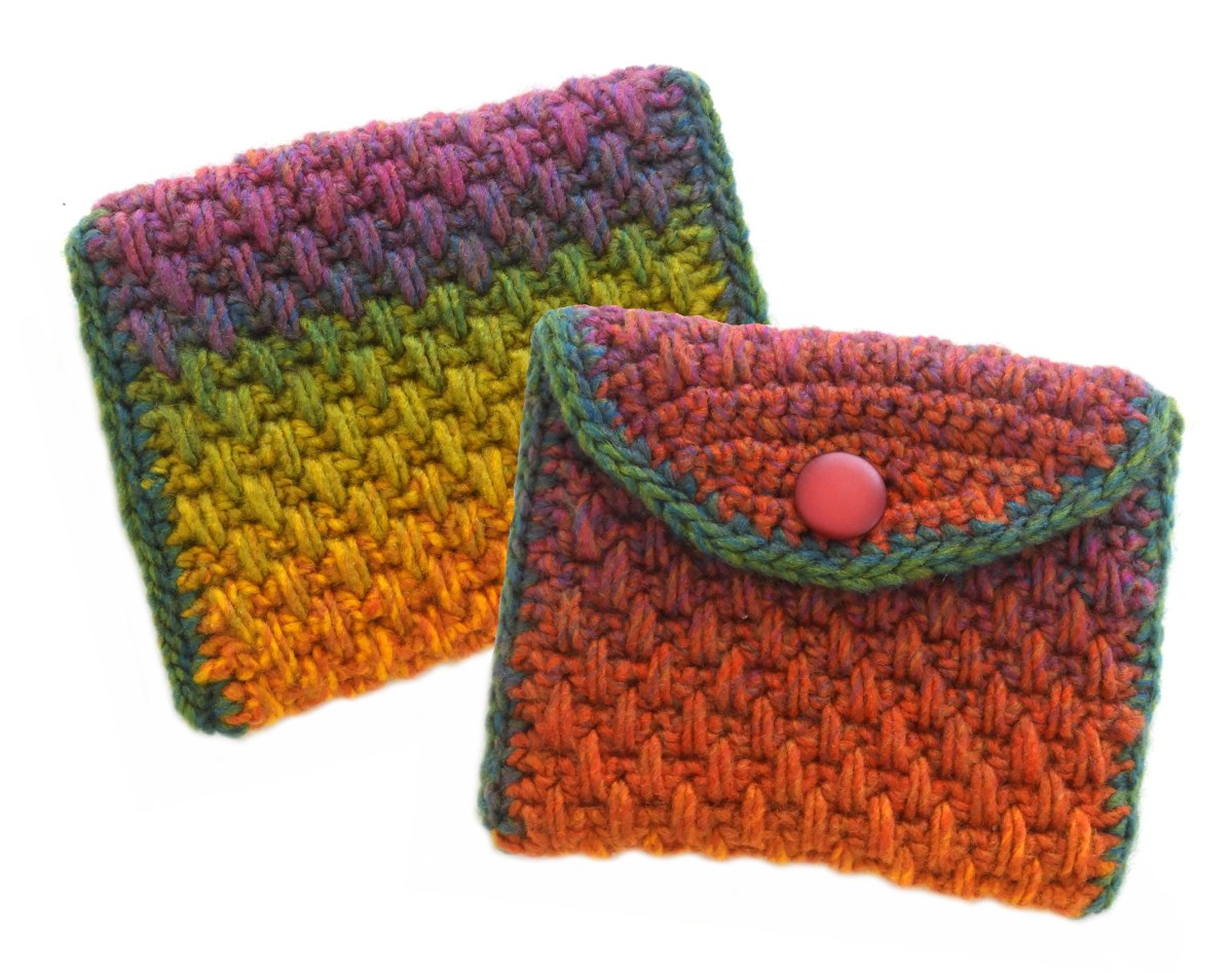 5 Stash Busting Crochet Purse Patterns