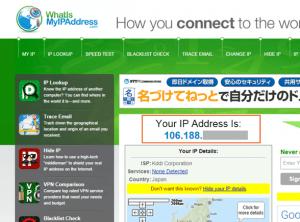 13_自IPアドレスの確認