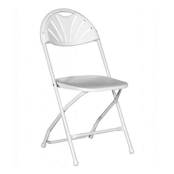 folding chairs for rent chair covers and sashes cheap white millennium all inc located in sioux center storm lake