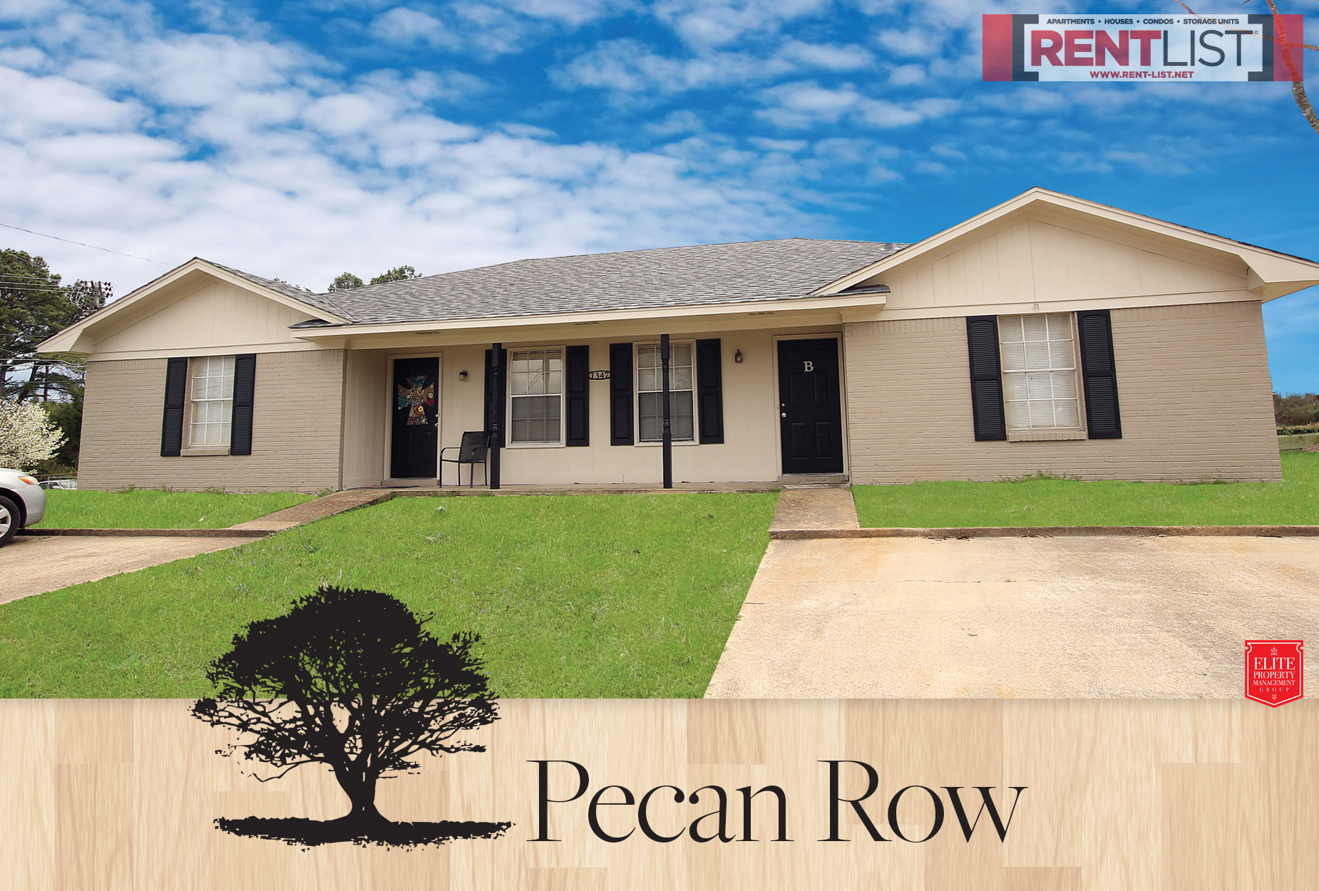 Max Rent  $615 & Pecan Row - Rent List