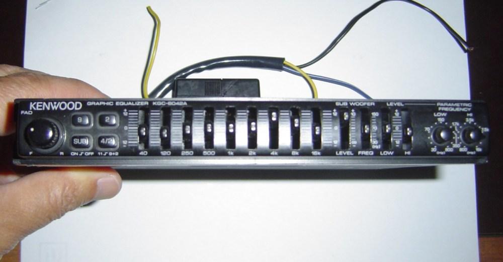 medium resolution of kenwood equalizer deals on 1001 blocksused genuine kenwood kgc 6042a car in dash graphical equalizer wiring