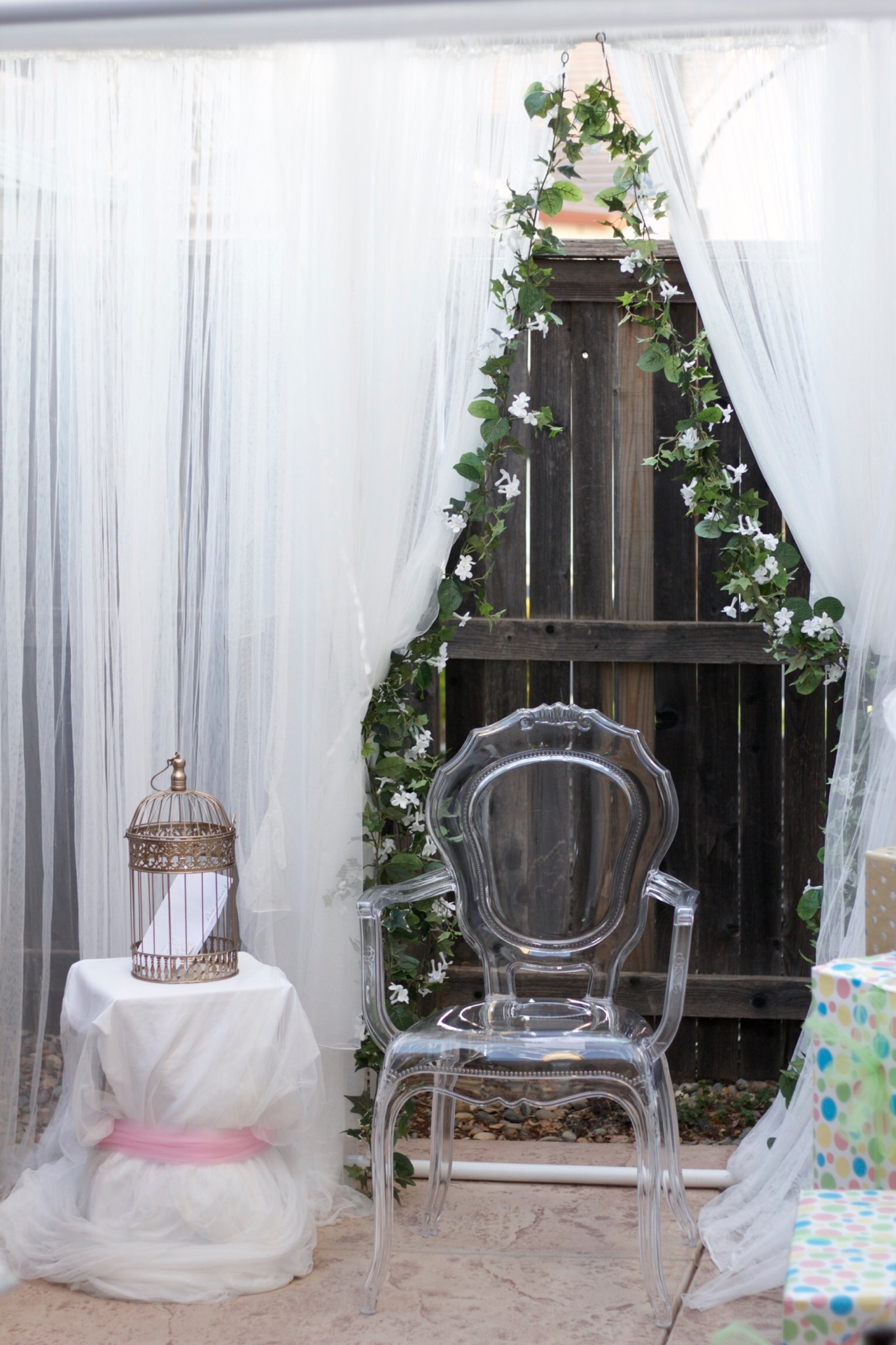 Party Chair Rentals Chair Ghost Clear