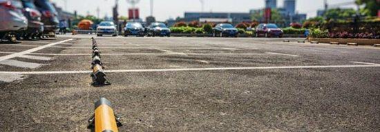borduri parcare centre comerciale mall