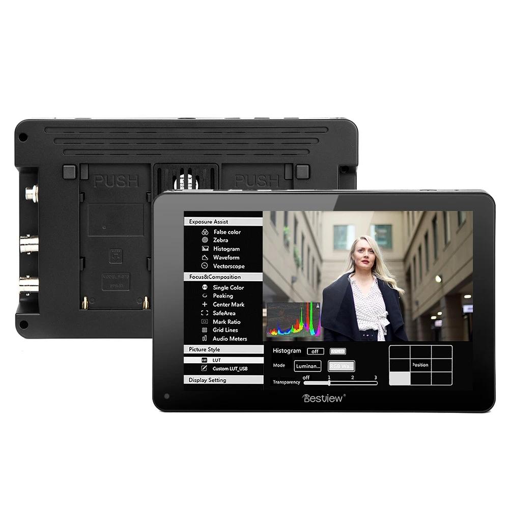 Desview R7S 7'' On-Camera 4K HDMI-3G-SDI Touchscreen Monitor