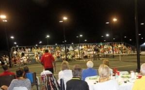 Tennis Seating Bonita Bay