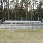 Bleachers for Rodeo in Gainesville