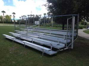 5 Row Aluminum Bleacher for Sale