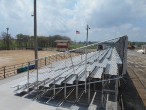 purchase used bleachers