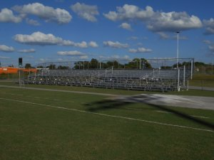 football game bleachers