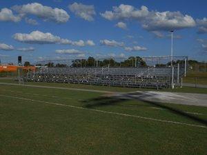 Venice High School Football long term bleacher rental in Sarasota County Florida
