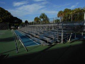 Tennis Tournament Bleacher rentals
