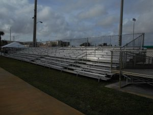 west palm beach soccer bleachers