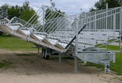 Highway Bleachers with Trailer