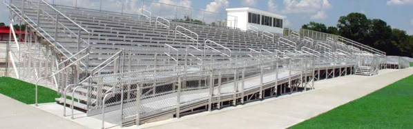 Elevated Grandstands with ADA Ramp