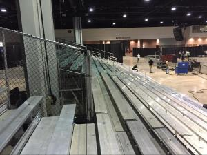 custom bleacher design