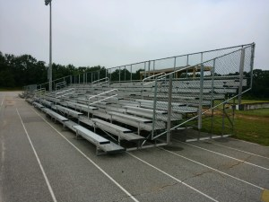 Season Rental for Football Bleachers