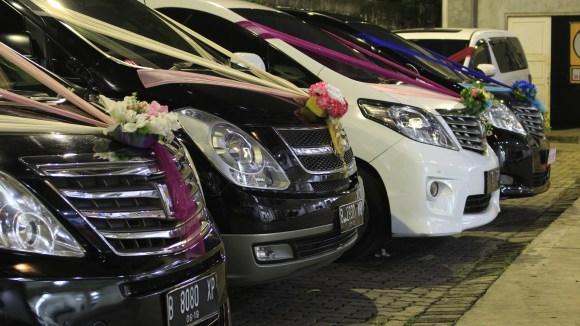 sewa wedding car bekasi