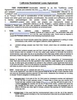 """This master lease agreement (this """"master lease""""), dated as of february 26, 2009, is between caterpillar financial services corporation (""""lessor""""), a delaware corporation whose address is 2120 west end avenue, nashville, tennessee 37203, and cdm resource management llc (""""lessee""""), a texas limited liability company with a principal address of. Free California Rental Lease Agreement Templates Pdf Word"""