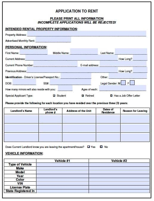 License Template For Word