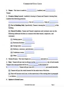 Free Printable Rental Lease Agreement Templates Pdf Word