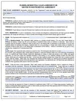 Free Florida Rental Lease Agreement Forms And Templates Pdf