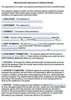 Free Massachusetts Rental Lease Agreement Forms And