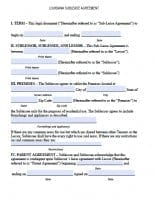 Free Louisiana Rental Lease Agreement Forms And Templates Pdf