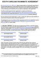 Free South Carolina Rental Lease Agreement Forms And