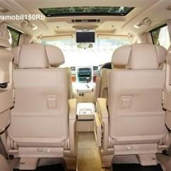 Fitur All New Alphard Dashboard Grand Veloz Sewa Jogja Semarang Klaten Magelang Tempat Duduk
