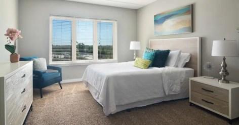 AFR-furnished bedroom