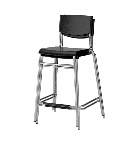 Luxe Event Rental Bar Stool Stacked