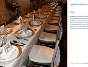 dinnerware flatware rentals
