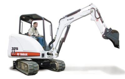 Miniescavadora Bobcat-325
