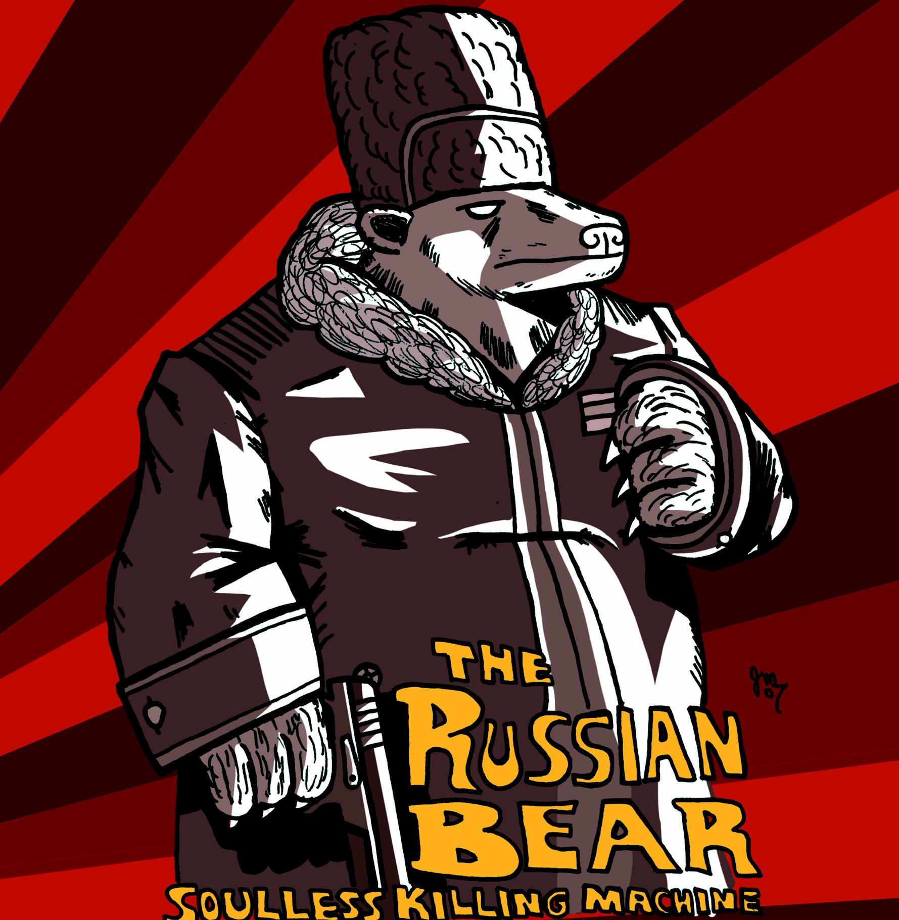 The Russian Bear: Soulless Killing Machine