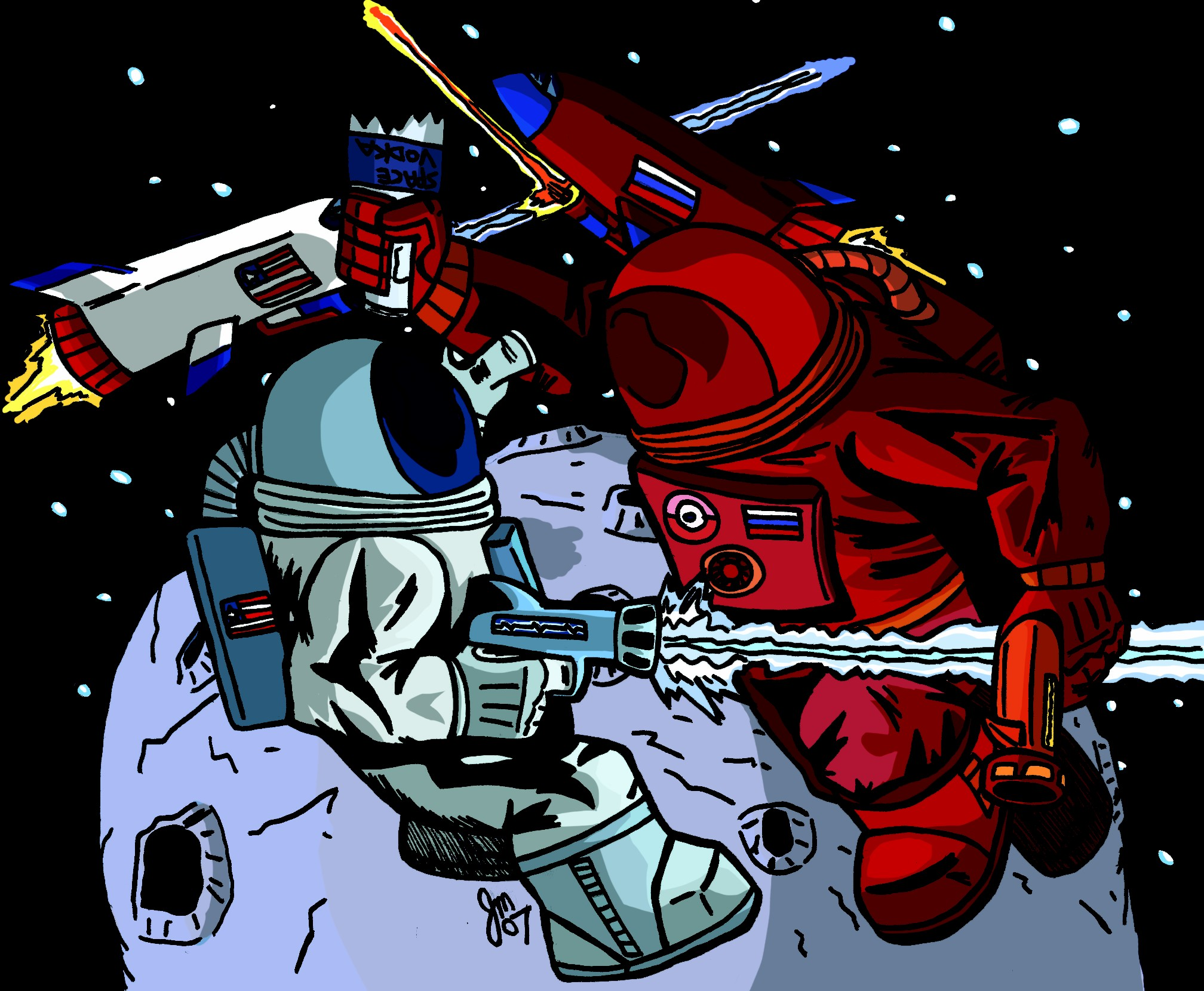 Astronaut Fight