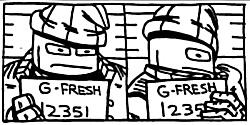G-Fresh Mugshot