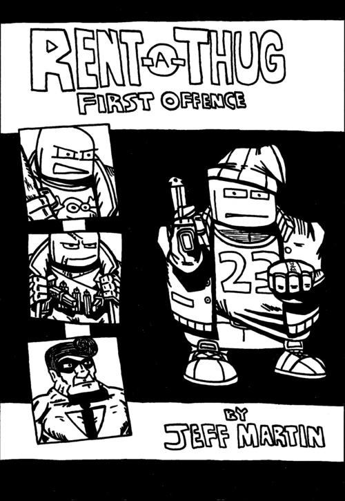 Rent-A-Thug: First Offence cover