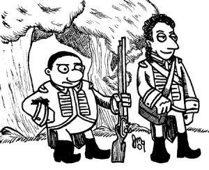 1812 - George and John