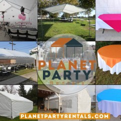 Tables And Chairs Rental Price Swing Chair Over Canyon List Balloon Arches Tent Rentals Patioheaters Tableschairs San Fernando Valley Party Company Planet Tents Canopies