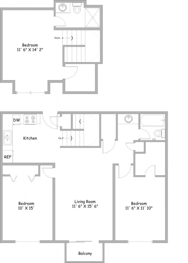 3 bedroom floor plan pdf for 3 bedroom floor plan with dimensions pdf
