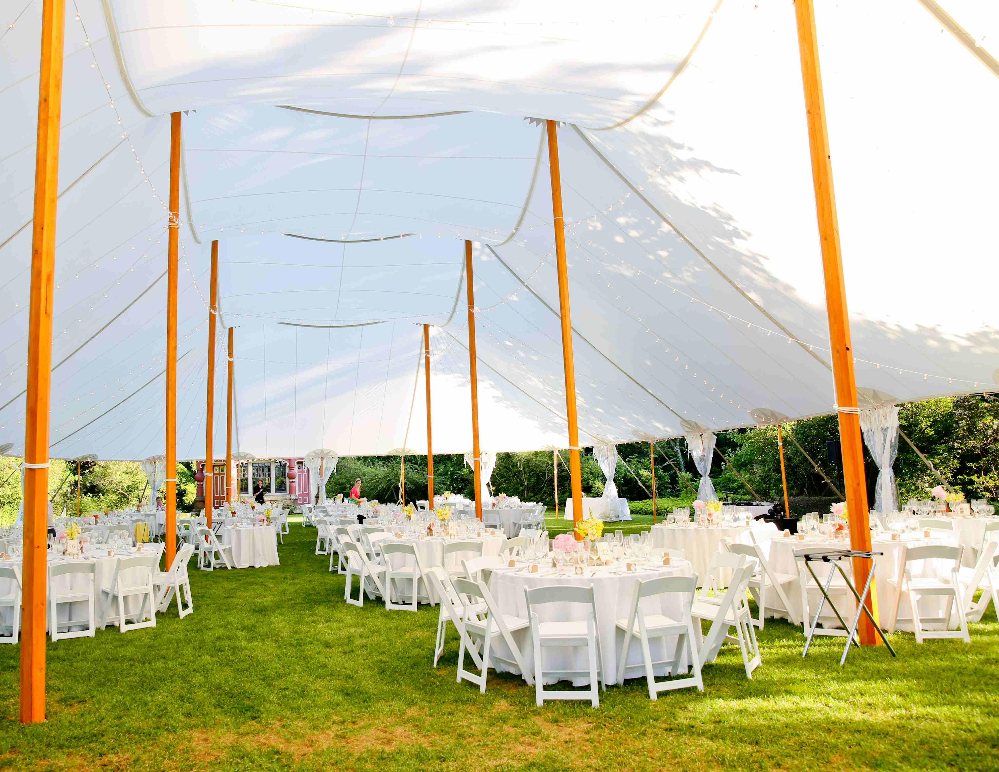 sailcloth beach chairs arne jacobsen egg chair tidewater tent rentals 59x119 with white garden