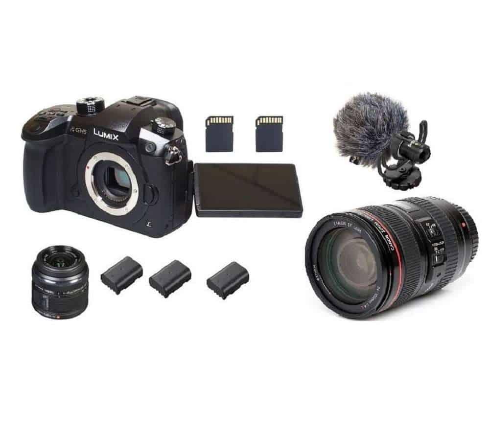 c5c2ba21a8f Panasonic GH5 rent | VLOG-L, 2 akut, mälukaardid, objektiivid, mikrofon