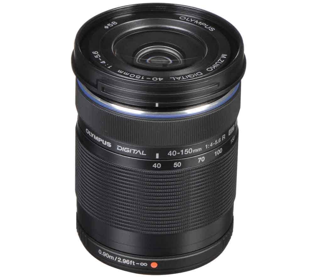 Olympuse objektiivi rent M. Zuiko 40-150mm f/4.0 - 5.6 ED