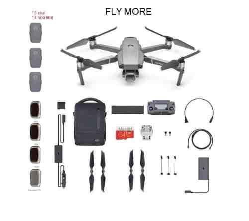 DJI Mavic 2 Pro drooni Fly More rent