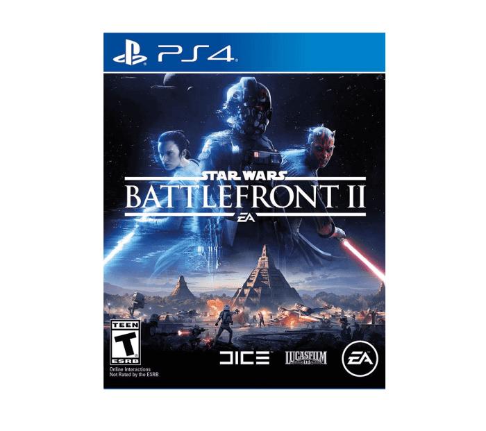 PS4 mängu rent Star Wars Battlefront 2