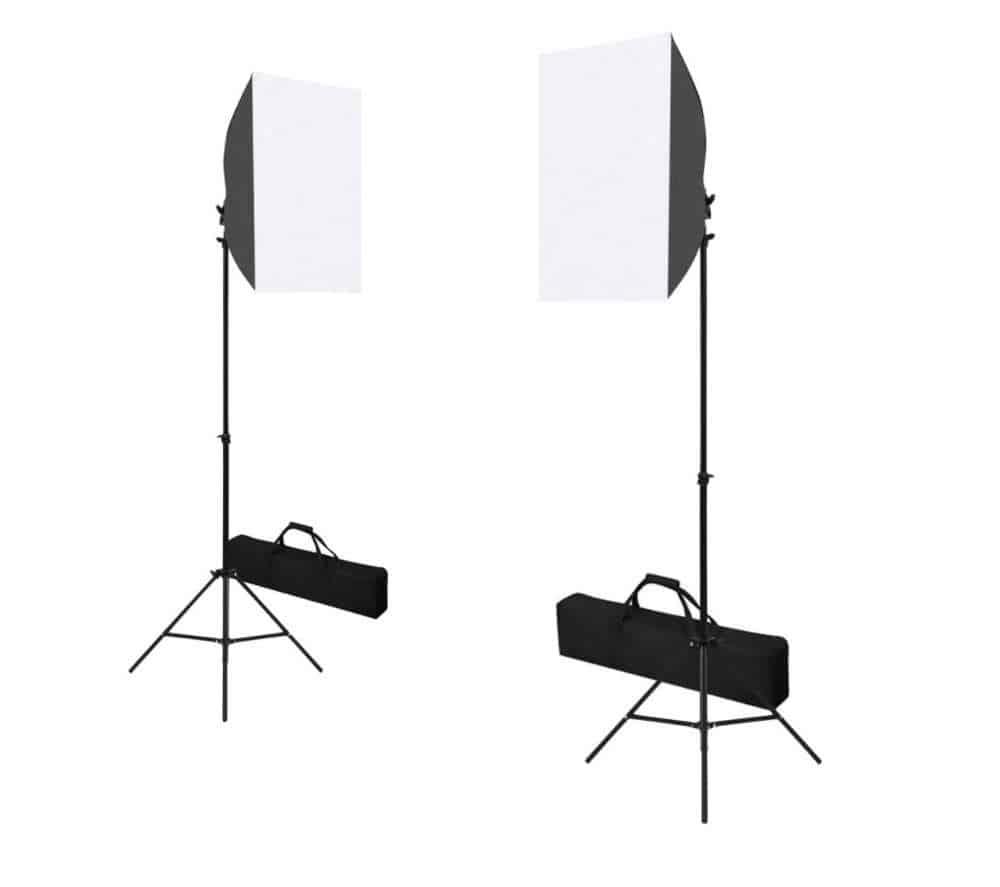 Softboxide ja valgustite fotostuudiokomplekti rent