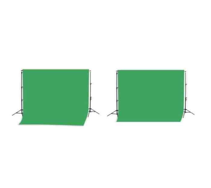 Rohelise 4.5m backdrop süsteemi rent